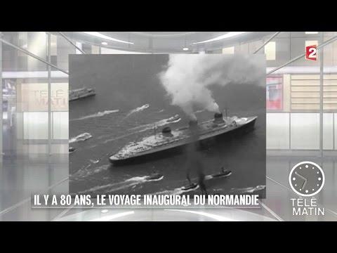 Mémoires - Il y a 80 ans, le voyage inaugural du Normandie