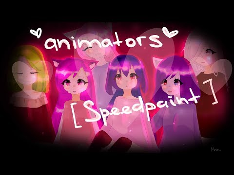 Gift for Limeona, Maika, Yuki Wolfire, Muzy Frile, Ayrin [Speedpaint]