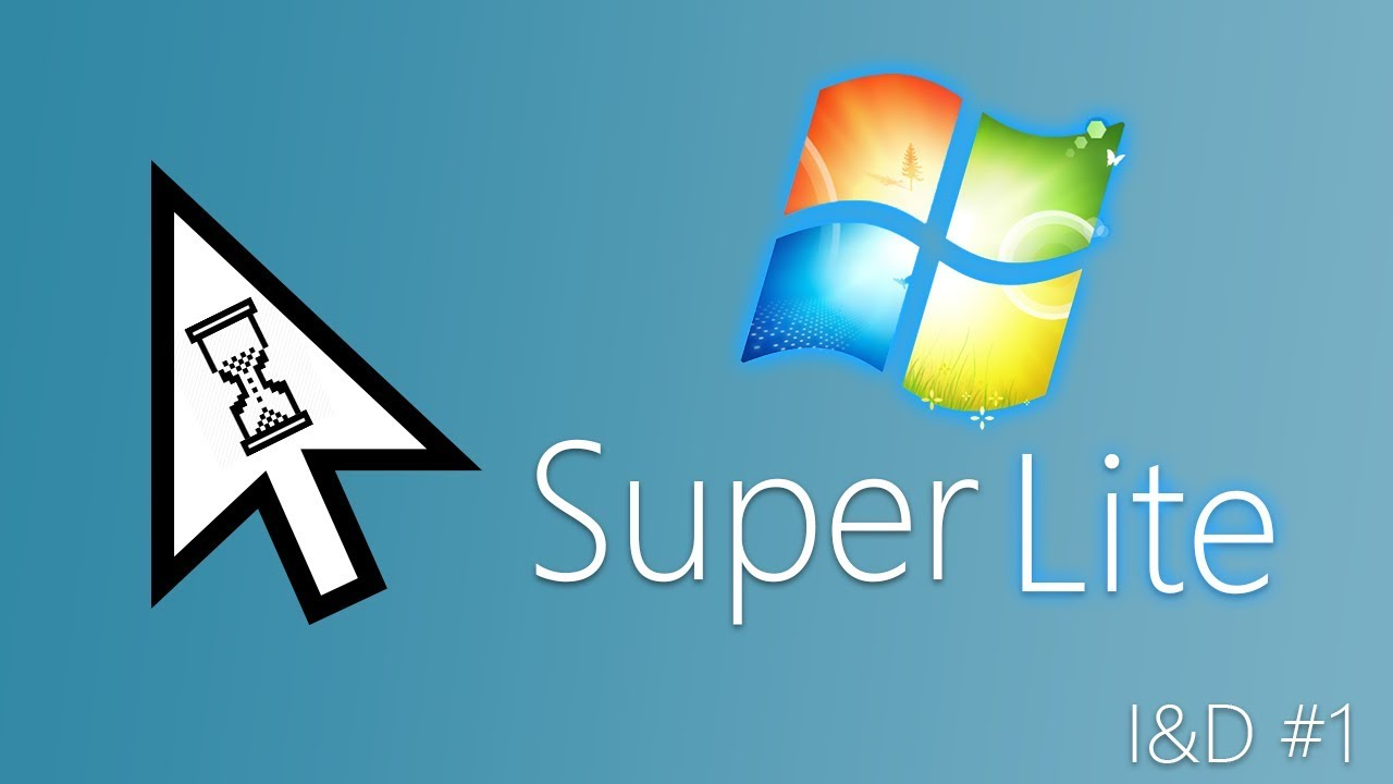 Windows 7 Super Lite - Install & Demo