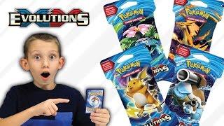pokemon xy evolutions tcg opening new pokmon ex cards