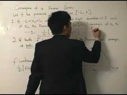 Fourier Analysis 8: Convergence Theorem Of A Fourier Series