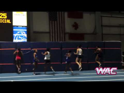 WAC Indoor Track and Field Championship - 60 Meter Dash Final