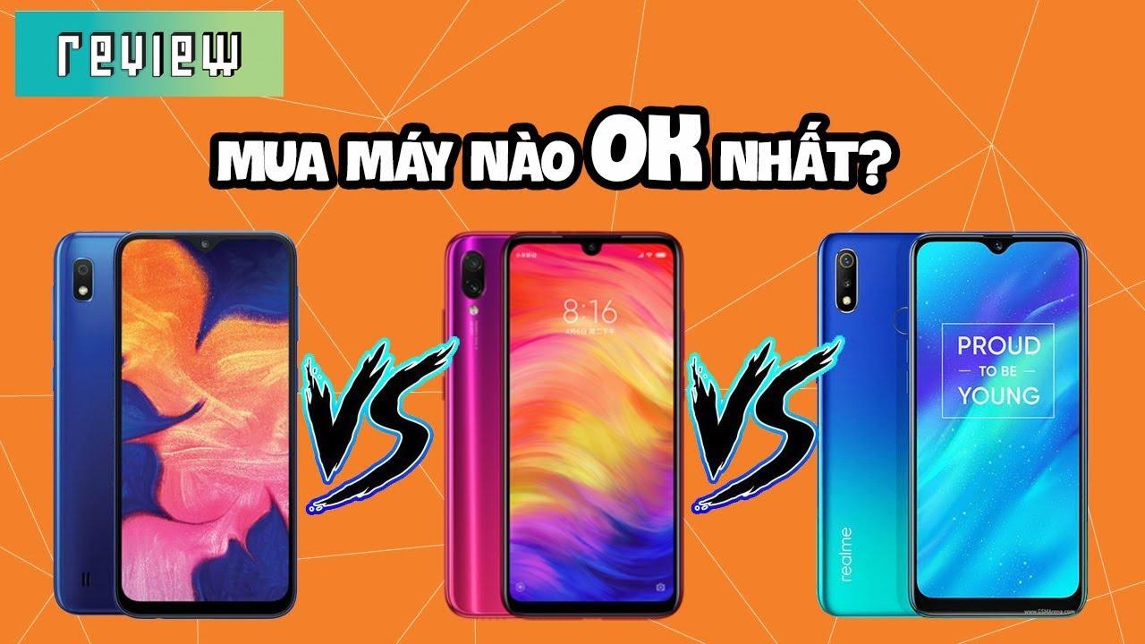 Có 3 triệu thì mua máy nào?  Redmi 7, Realme 3 hay Galaxy A10?