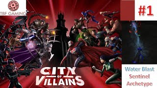 City of Heroes Sentinel Archetype - Lets try City of Villains- COH 2019 - City of Heroes is back!