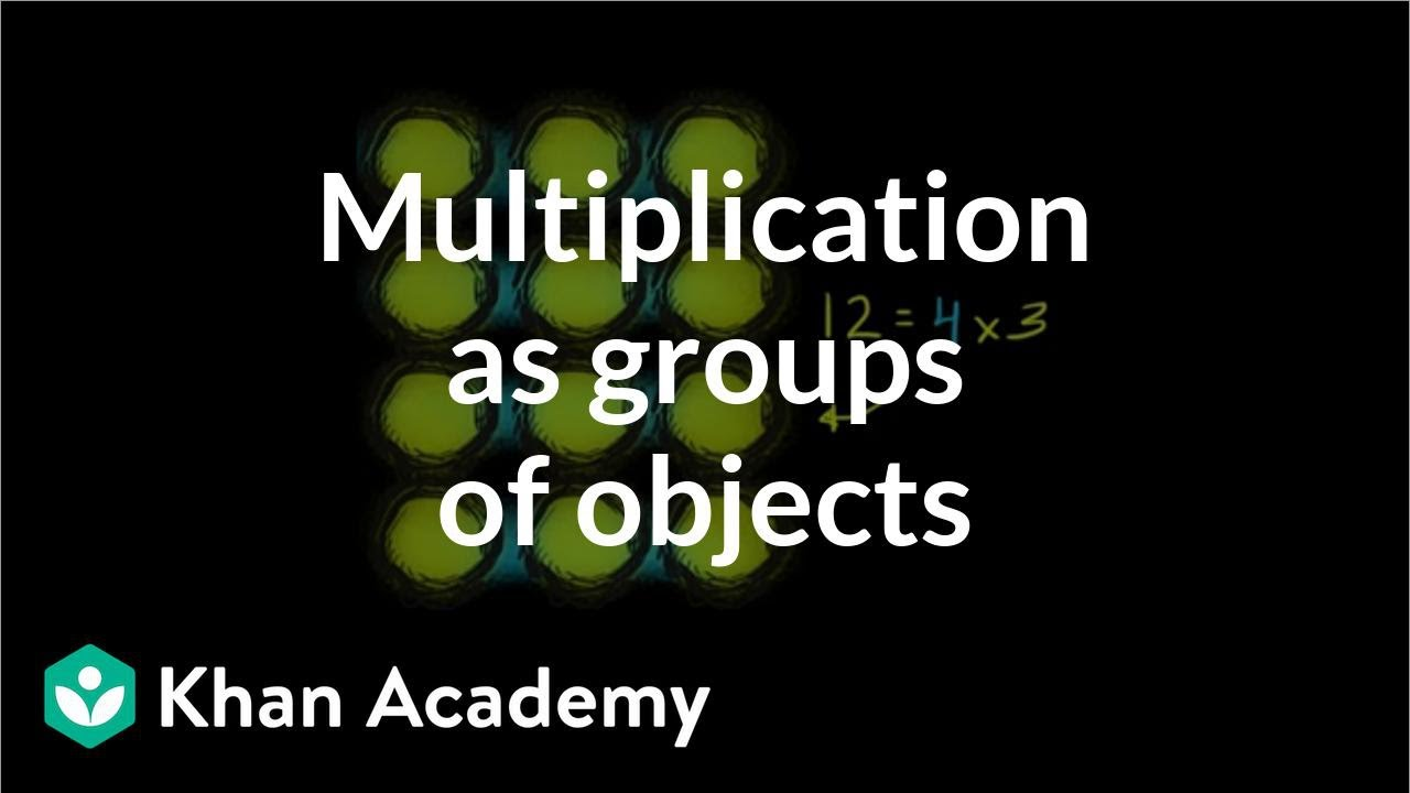 hight resolution of Multiplication with arrays (video)   Khan Academy