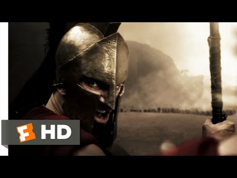 300 (2/5) Movie CLIP - This Is Where We Fight (2006) HD
