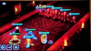 summoners war dragon lair b10 auto farming with fire vampire around 10 min