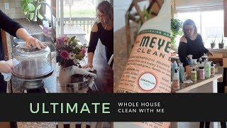 ULTIMATE CLEAN WITH ME || EXTREME MOTIVATION || Super Long || Super Messy House