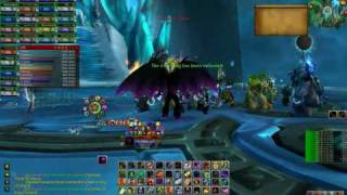 World of Warcraft Fall of the Lich King Gameplay - Lich King 25 man kill