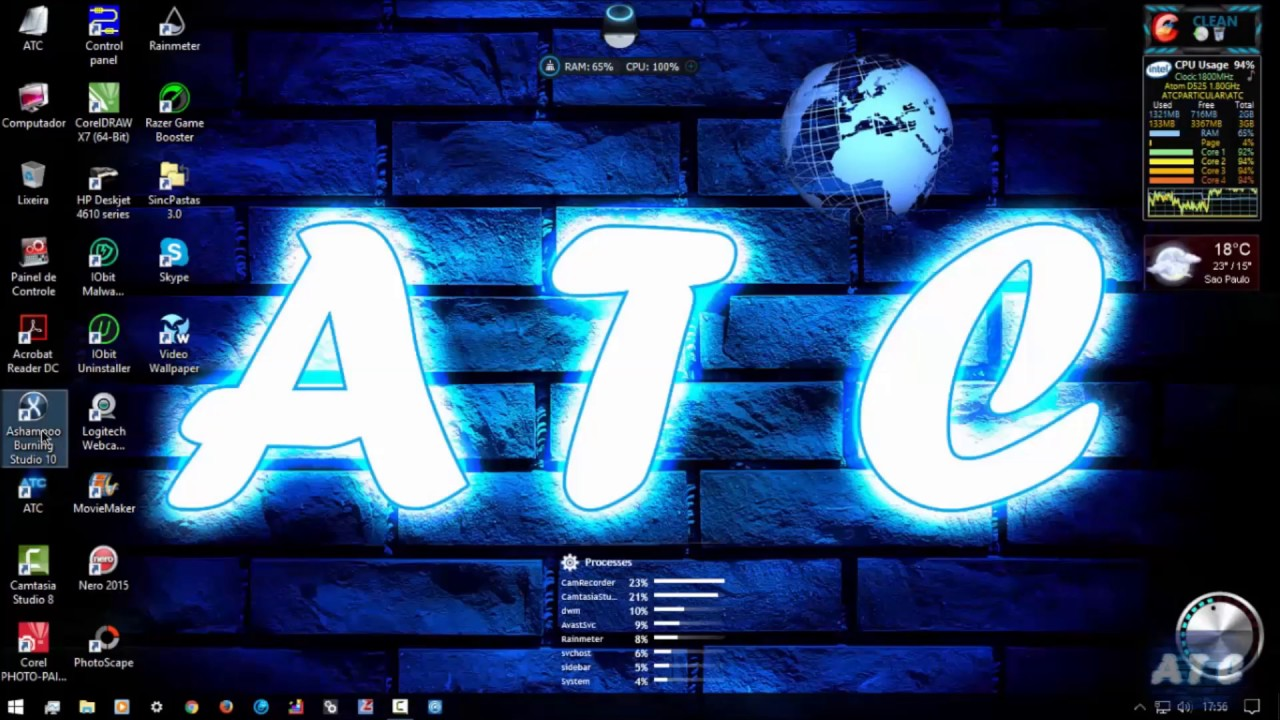 D525 DualCore Atom 1 8GHz