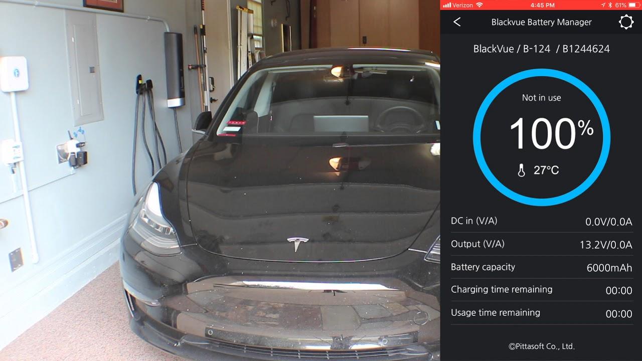 Tesla Model 3 Dashcam & BlackVue Ultra Battery - YouTube