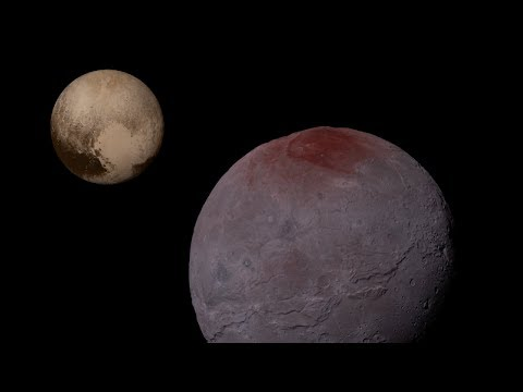 What Would Standing on Pluto's Moon Charon Feel Like?
