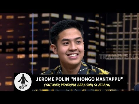 MANTAP JIWA! Jerome Polin, Youtuber Penerima Beasiswa S1 Jepang | HITAM PUTIH (26/02/19) Part 2