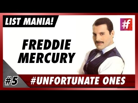 #fame hollywood -​​ Freddie Mercury - 5 Most Tragic Celeb Stories in History