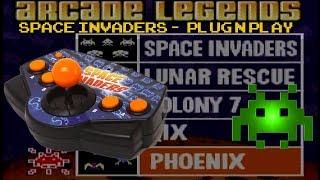 Radica Space Invaders Plug n Play Reivew - Vs Jakks Pacific's Version? - Arcade Machine