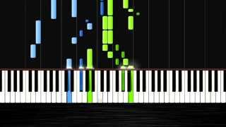Antonin Dvorak: Humoresque Op. 101 No. 7 - Piano Tutorial by PlutaX - Synthesia