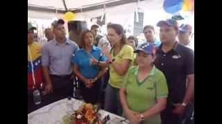 Ricardo Hernandez y Maria Corina en Táriba.