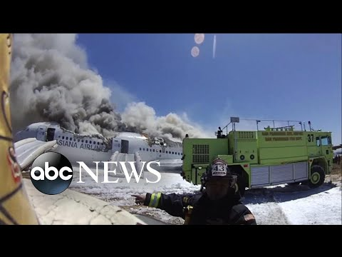 New surveillance video show errors made after Asiana plane crash