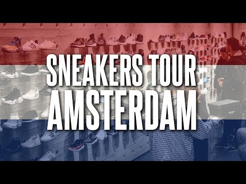 ON FAIT LE TOUR DES SHOP SNEAKERS À AMSTERDAM ! PATTA, SUNIKAA, OQIUM, BASKÈTS...