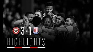 Match Highlights: Brentford 3 Stoke City 1