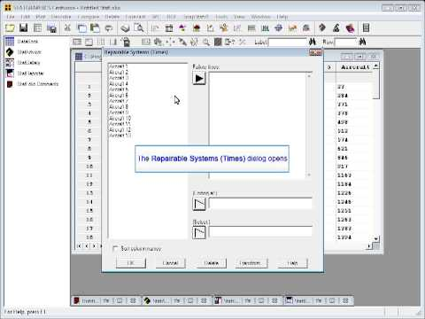 Statgraphics Repairable Systems