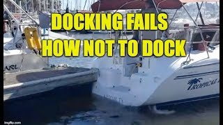 Docking Fails How Not To Dock And Why
