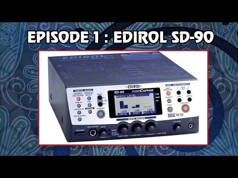 Instruments that ZUN uses in his music, Epidode 1/?: EDIROL SD-90