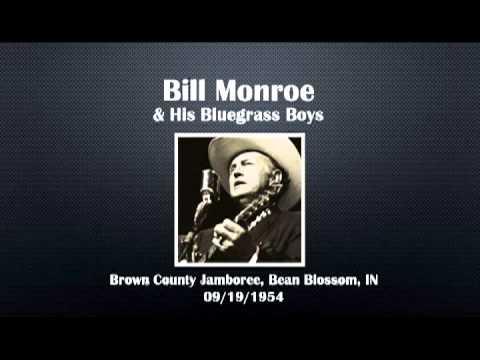 【CGUBA297】 Bill Monroe & His Bluegrass Boys 09/19/1954