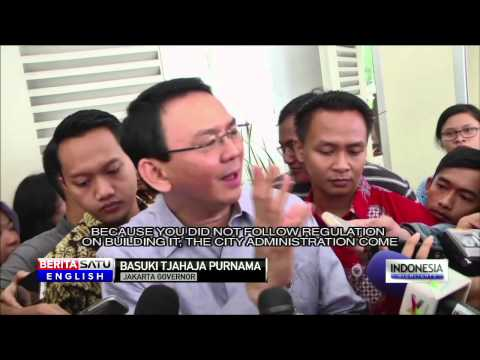 Ahok: No Compensation for Kampung Pulo Residents