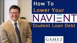 How To Lower Navient Student Loan Debt   Navient Student Debt Help