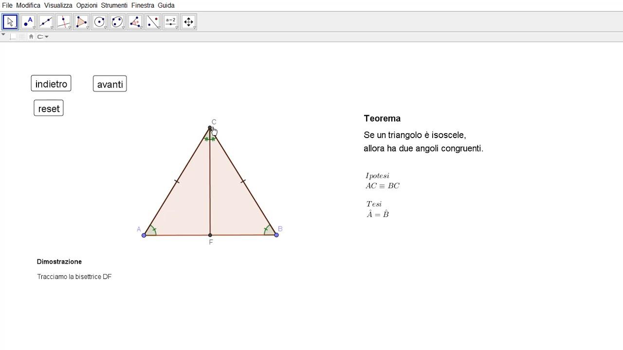 angoli di un triangolo equilatero