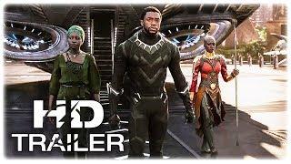 Black Panther King Trailer New (2018) Marvel Superhero Movie HD