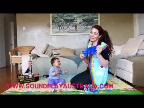 Scarf activities for kids  Popcorn song