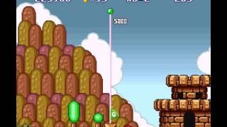 Super Mario All-Stars + Super Mario World - Super Mario All-Stars  Super Mario World (SNES) (Super Mario Bros. Hard Mode) - User video