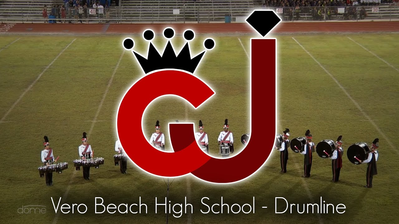 Vero Beach High School Drumline Crown Jewel Marching Band Festival 2017