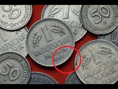 Münzen mit diesem Zeichen sind bis zu 7000 Euro wert YouTube