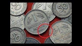 Münzen mit diesem Zeichen sind bis zu 7000 Euro wert