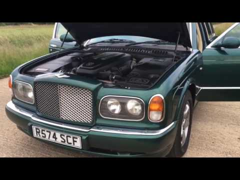 1998-bentley-arnage-first-year-bmw-4.4-v8-cosworth-twin-turbo-video-review