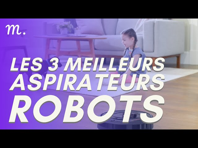 🥇TOP 3 ASPIRATEURS ROBOTS (2021)
