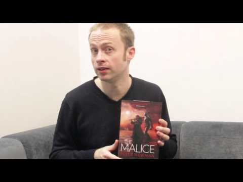 Peter Newman's Malice Cover Reveal