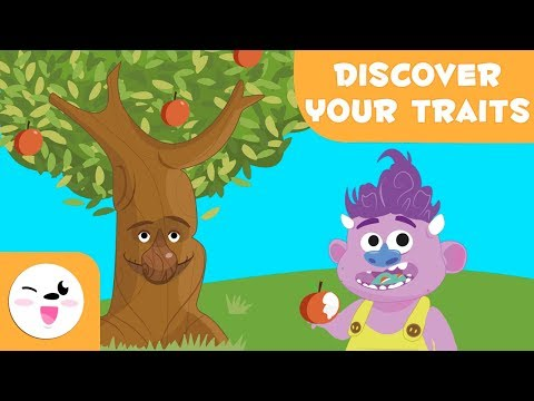 Build Your Tree Learn about your character traits | Self-esteem for kids
