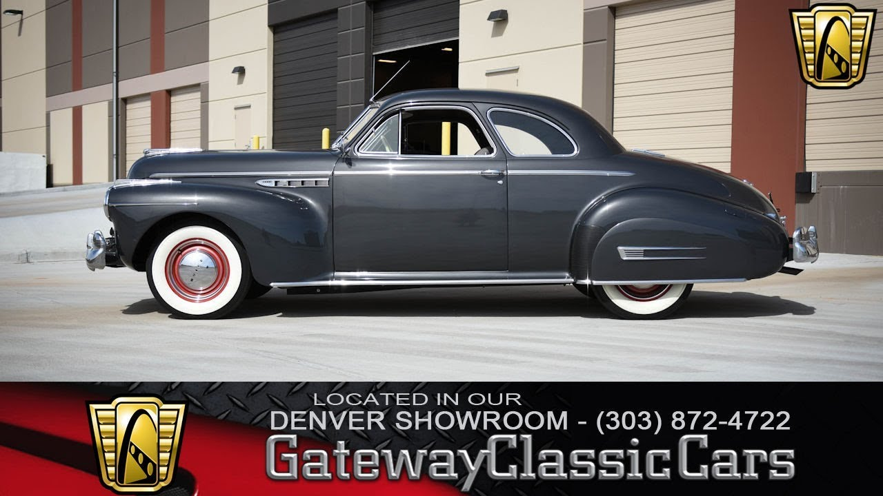 1941 Buick Super Now Featured In Our Denver Showroom #257-DEN - YouTube