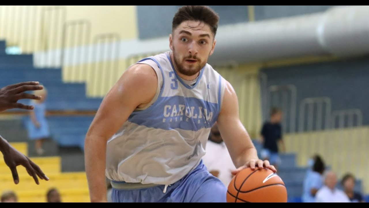 UNC Basketball: Andrew Platek has bounce-back performance in ...