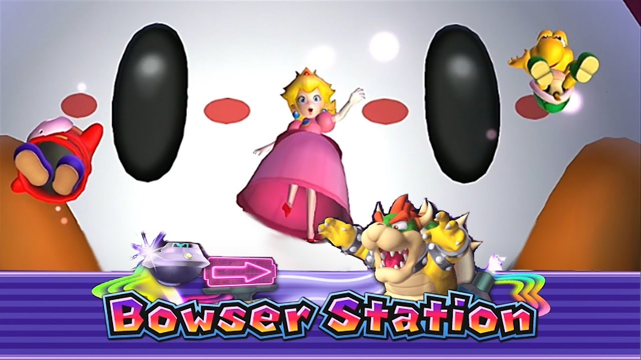 Mario Party 9 Bowser Station Shy Guy Master 4 Youtube