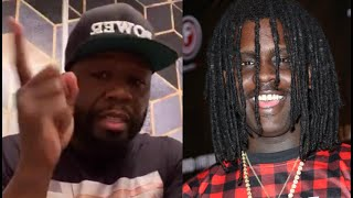 50 Cent Talks Chief Keef Not Showing Up To Music Video With Wiz Khalifa