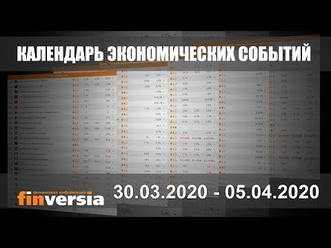 Календарь экономических событий. 30.03.2020 - 05.04.2020 от Finversia.ru