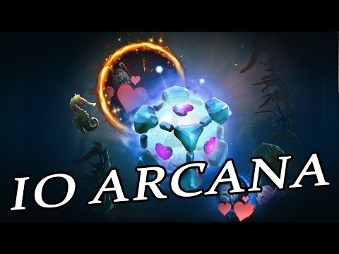 EXCLUSIVE IO ARCANA RELEASED! [Dota 2]