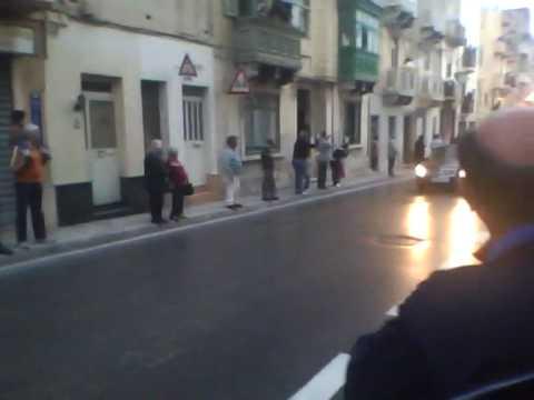 The Pope visit Gzira  Malta.wmv
