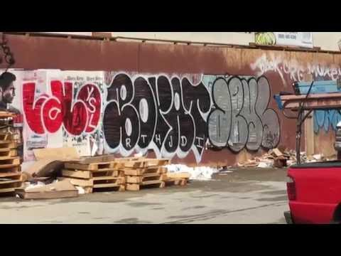 EXCLUSIVE! LEAKED!! BORATER * GRAFFITI BOMBING MEXICO CITY *LOS ANGELES *2016***