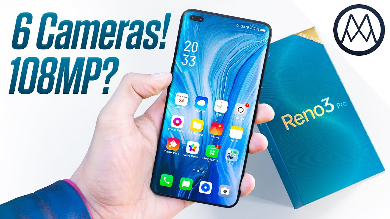 OPPO Reno3 Pro Unboxing - 108 Megapixel for the masses?